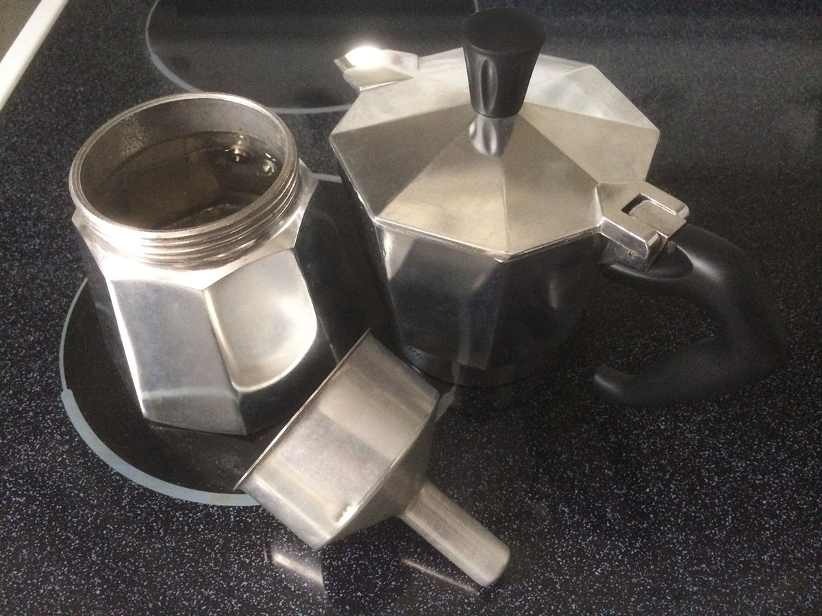 Moka Pot Gasket Coffee With The Moka Pot